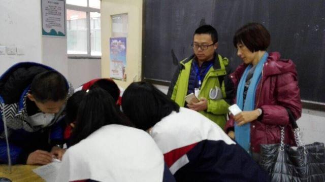 潍坊实验中学初中军训图片1